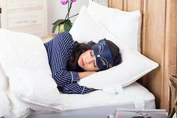 Premium 100% White Goose Down Hotel SOFT  Pillows, Queen Siz