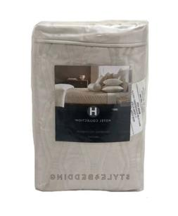 Hotel Collection Woven Texture Quilted STANDARD Pillow Sham